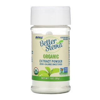 Now Foods, BetterStevia, Organic Extract Powder, 1 oz (28 g)