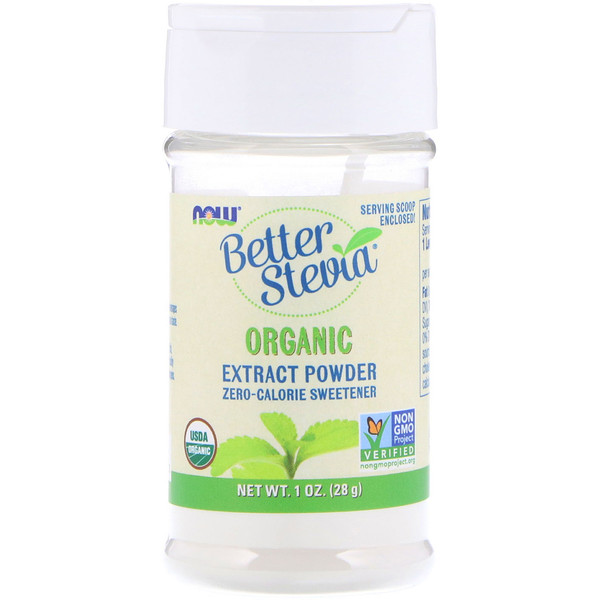 BetterStevia, Organic Extract Powder, 1 oz (28 g)