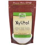Отзывы о Now Foods, Real Food, Ксилитол, 1 фунт (454 г)