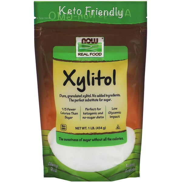 Real Food, Xylitol, 1 lb (454 g)
