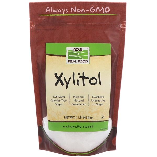 Real Food, Xilitol, 1 lb (454 g)