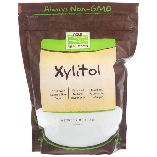 Now Foods, Xylitol, 2.5 lbs (1134 g)
