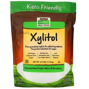 Now Foods, Xylitol, 2.5 lbs (1134 g) отзывы покупателей