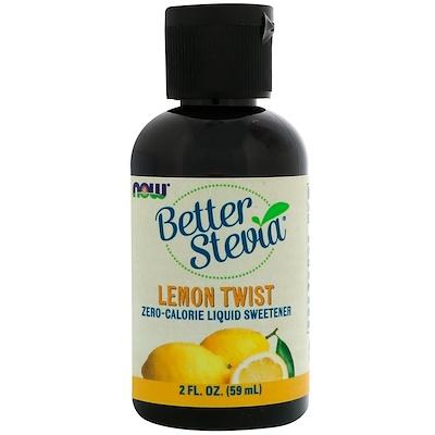 Better Stevia, Zero-Calorie Liquid Sweetener, Lemon Twist, 2 fl oz (59 ml) giantvape lemon cake e liquid