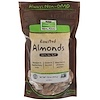 Now Foods, Real Food, Roasted Almonds, with Sea Salt, 16 oz (454 g)