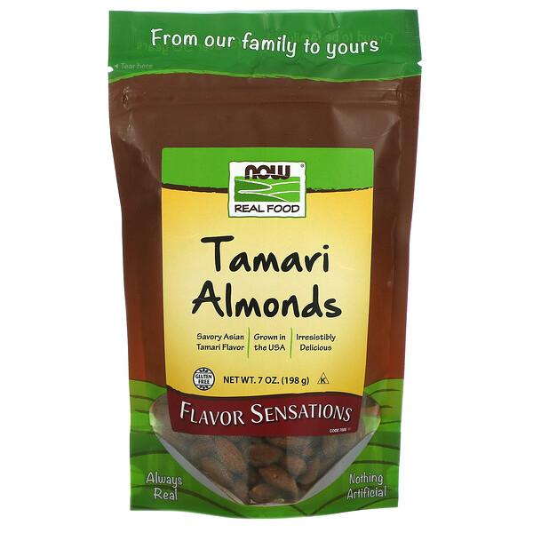 真正食品,Tamari杏仁,7盎司(198克)