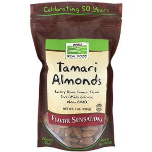 Now Foods, Real Food, Tamari Almonds, 7 oz (198 g) отзывы покупателей