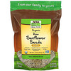 Now Foods, Real Food, Organic Raw Sunflower Seeds, Unsalted, 16 oz (454 g)