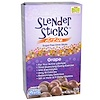 Now Foods, Real Food, Slender Sticks, Active, Grape, 12 Sticks, (4 g) Each