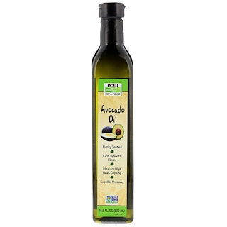 Now Foods, Real Food, Avocado Oil, 16.9 fl oz (500 ml)
