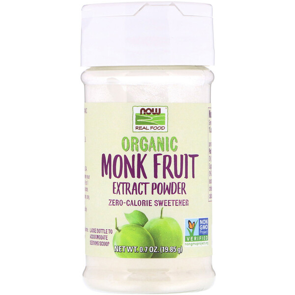Organic Monk Fruit Extract Powder, 0.7 oz (19.85 g)