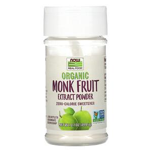 Now Foods, Organic Monk Fruit Extract Powder, 0.7 oz (19.85 g) отзывы