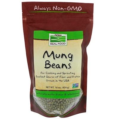 Купить Now Foods Бобы мунг, 16 унций (454 г)
