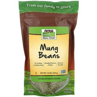 Now Foods, Frijoles mung, 454 g (16 oz)