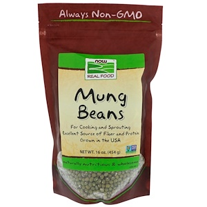 Now Foods, Mung Beans, 16 oz (454 g) отзывы