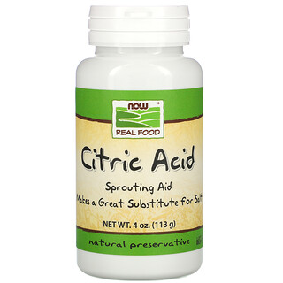 Now Foods, Citric Acid, 4 oz (113 g)