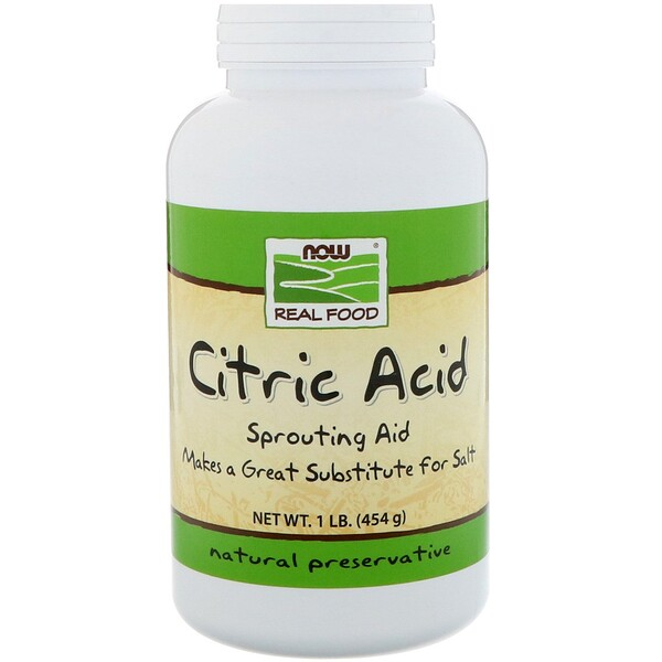 Citric Acid, 1 lb (454 g)