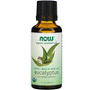 Now Foods, Organic Essential Oils, huile essentielle d'eucalyptus bio, 30 ml.