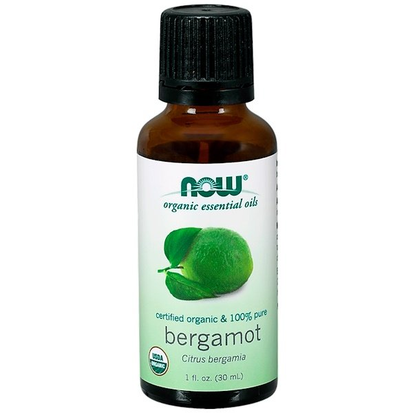 Now Foods, Organic Essential Oils, Bergamot, 1 fl oz (30 ml)