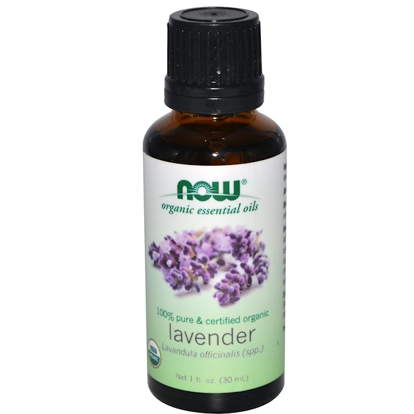 Organic Essential Oils, Lavender, 1 fl oz (30 ml)