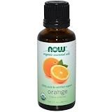 Отзывы о Now Foods, Органические эфирные масла, Апельсин, 1 жидкая унция (30 мл)