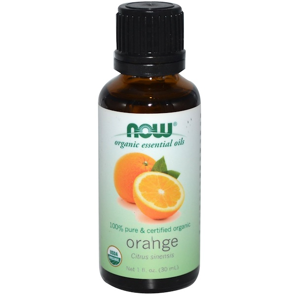 Now Foods, ─therische ╓le, Bio, Orange, 1 fl oz (30 ml)