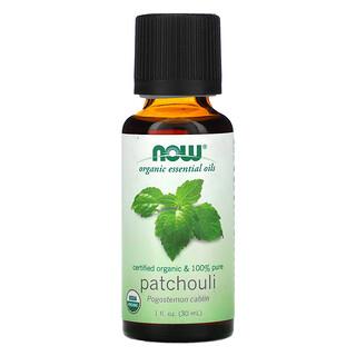 Now Foods, Organic Essential Oils, Patchouli, 1 fl oz (30 ml)
