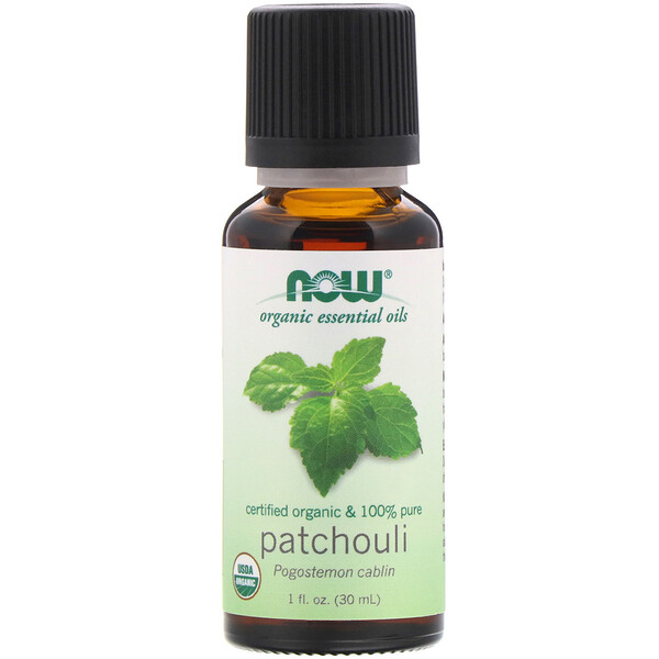 Organic Essential Oils, Patchouli, 1 fl oz (30 ml)