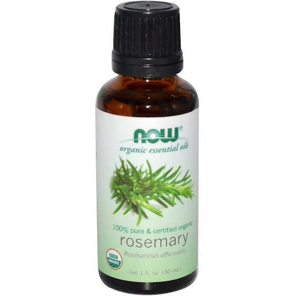 Now Foods, Organic Essential Oils, Rosemary, 1 fl oz (30 ml)