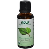 Отзывы о Now Foods, Органическое эфирное масло чайного дерева, 1 жидкая унция (30 мл)