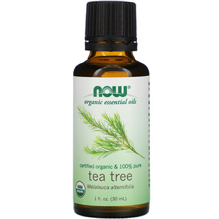 Now Foods, Ätherische Bio-Öle, Teebaum, 30 ml