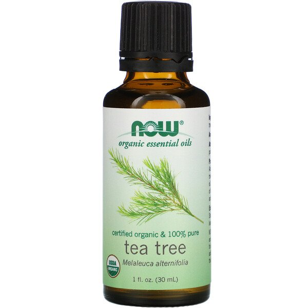 Organic Essential Oils, Tea Tree, 1 fl oz (30 ml)