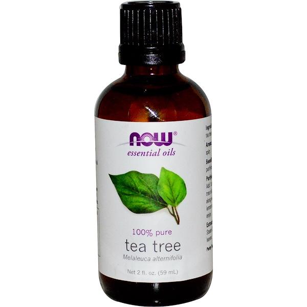 Now Foods, Essential Oils, Tea Tree, 2 fl oz (59 ml)