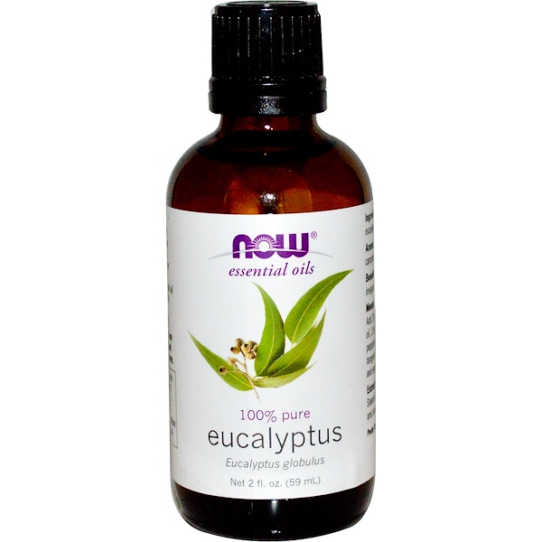 Now Foods, Essential Oils, Eucalyptus, 2 fl oz (59 ml) (Discontinued Item)