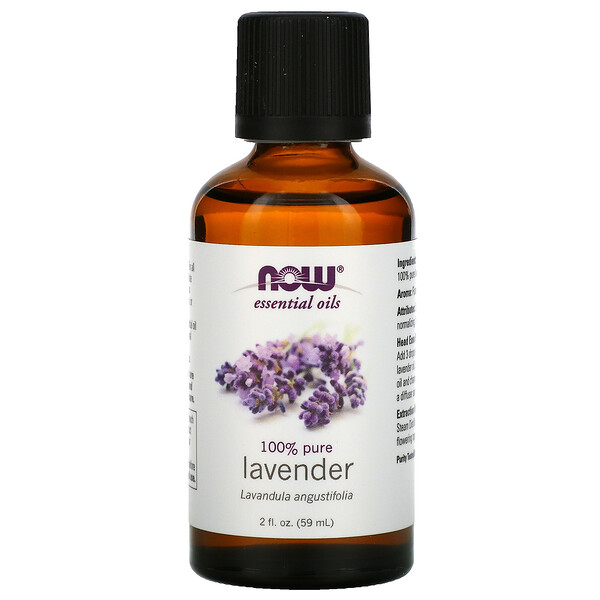 Now Foods, Aceites Esenciales, Lavanda, 2 fl oz (59 ml)