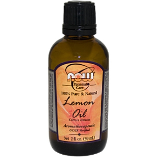 Now Foods, Lemon Oil, 2 fl oz (59 ml) (Discontinued Item)