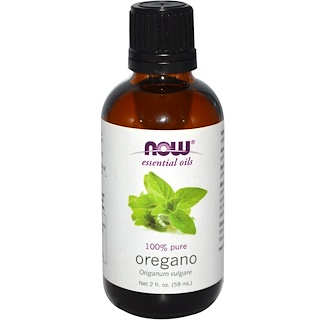 Now Foods, Aceites Esenciales, Orégano, 2 fl oz (59 ml)
