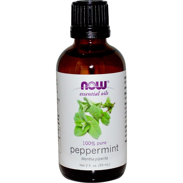 Essential Oils, Peppermint, 2 fl oz (59 ml)