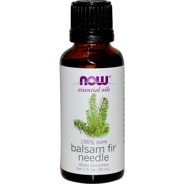 Now Foods, Essentials Oils, Balsam Fir Needle, 1 fl oz (30 ml) (Discontinued Item)