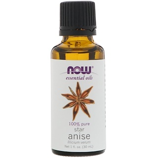 Now Foods, Essential Oils, Star Anise, 1 fl oz (30 ml)