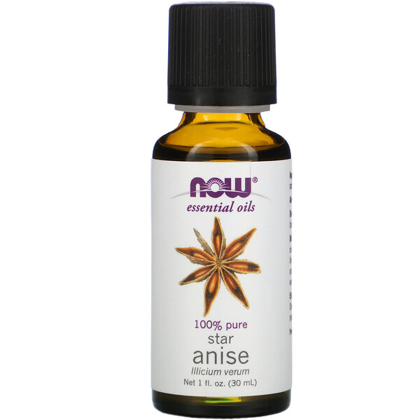 Now Foods, Huiles essentielles, Anis, 1 fl oz (30 ml)
