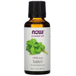 Now Foods, Essential Oils, Basil, 1 fl oz (30 ml)