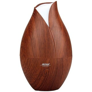 Now Foods, Solutions, Ultraschall-Ölzerstäuber aus falschem Holz, 1 Stk.