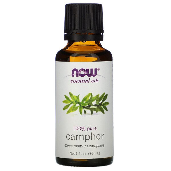 Essential Oils, Camphor, 1 fl oz (30 ml)