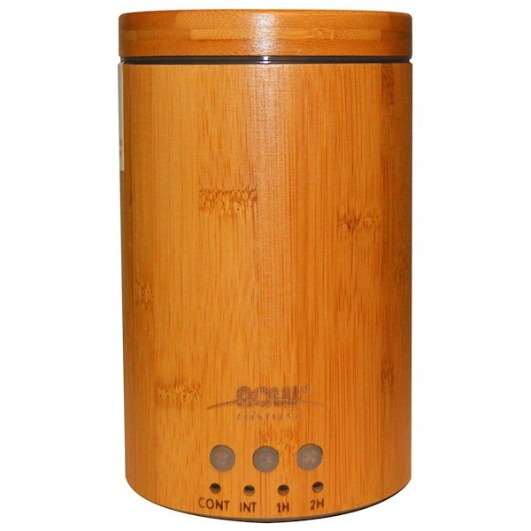 Now Foods, Solutions, Real Bamboo Ultrasonic Oil Diffuser, 1 Diffuser
