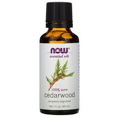 Now Foods, Essential Oils, Cedarwood, 1 fl oz (30 ml)