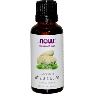 Now Foods, Essential Oils, Atlas Cedar, 1 fl oz (30 ml)