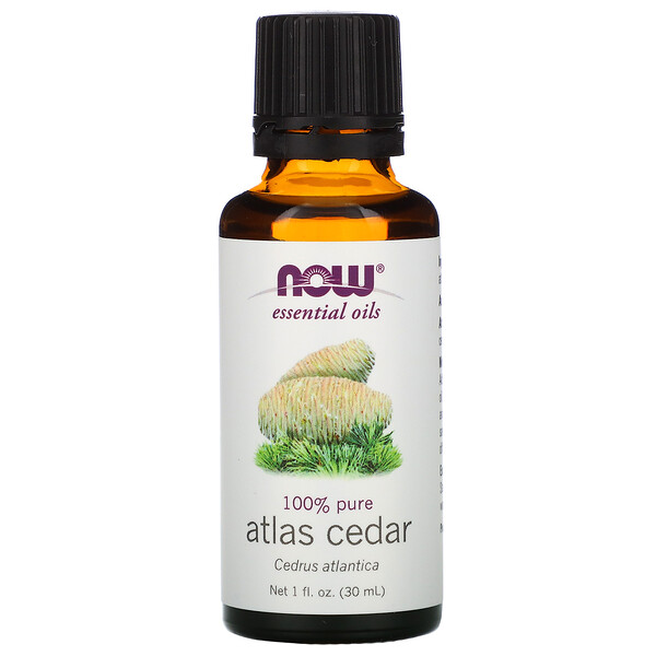 Essential Oils, Atlas Cedar, 1 fl oz (30 ml)