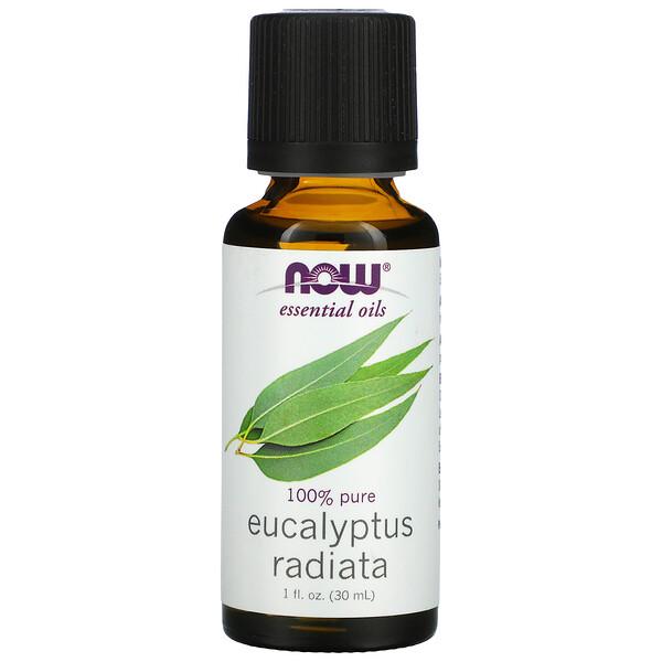 Essential Oils, Eucalyptus Radiata, 1 fl oz. (30 ml)