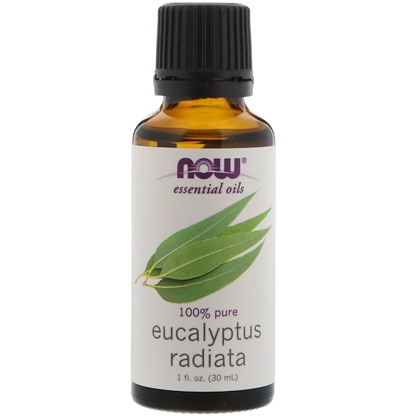 Essential Oils, Eucalyptus Radiata, 1 fl oz. (30 ml)
